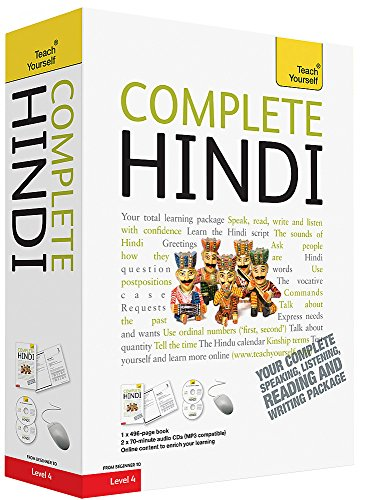 Compare Textbook Prices for Complete Hindi: Your Complete Speaking, Listening, Reading and Writing Teach Yourself 1 Edition ISBN 9781444106831 by Snell, Rupert