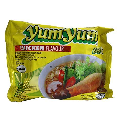Sparangebot! 180x60g Yum Yum Chicken Instantnudeln mit Huhngeschmack