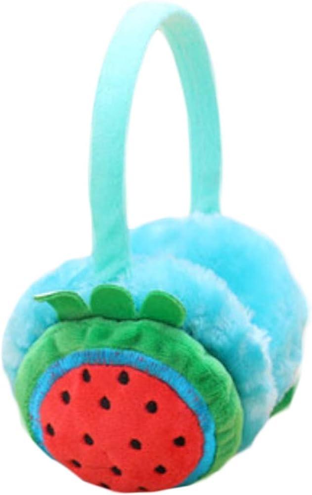 Set Of 3 Cute Ear Warmer Earmuffs Ear protection Winter decorations(Watermelon)
