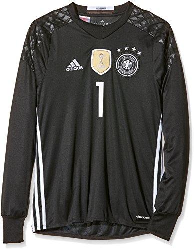 adidas Kinder Trikot DFB Goalkeeper Jersey Youth Neuer, Black, 176