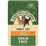 James Wellbeloved Complete Wet Adult Cat Food Turkey, 12 x 85 g