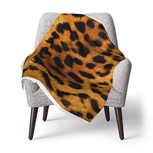 Hdadwy Manta para niños, manta para bebé con estampado de leopardo, manta suave de felpa para niños y niñas, manta receptora de 30 x 40 pulgadas