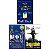 The Midnight Library, Hamnet, Shuggie Bain 3 Books Collection Set
