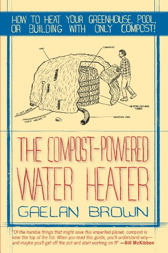The Compost-Powered Water Heater: How to heat your greenhouse, pool, or buildings with only compost!