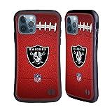 Head Case Designs Licenza Ufficiale NFL Calcio Las Vegas Raiders Graphics Cover Ibrida Compatibile con Apple iPhone 12 / iPhone 12 PRO