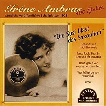 Die Susi bläst das Saxophon (1928)