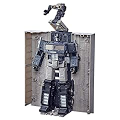 INSPIRED BY THE 1986 FILM: Pack comes with an Optimus Prime figure inspired by the 1986 film Transformers: The Movie GRAYSCALE SPARKLESS DECO: Figure features grayscale deco inspired by the appearance of Optimus Prime in the 1986 film when his death ...