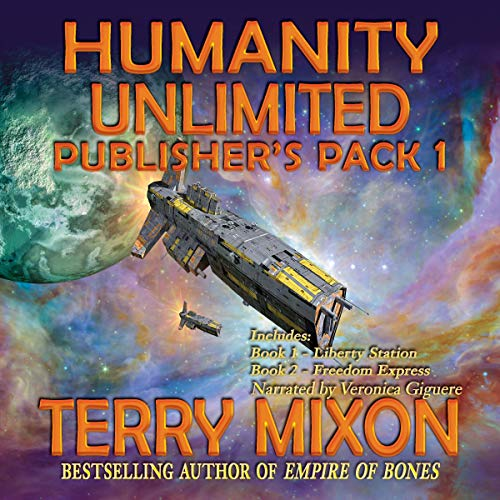 The Humanity Unlimited Saga Publisher's Pack 1 audiobook cover art