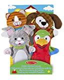 Melissa & Doug 19084 Playful Pets Marionette Giocattolo...