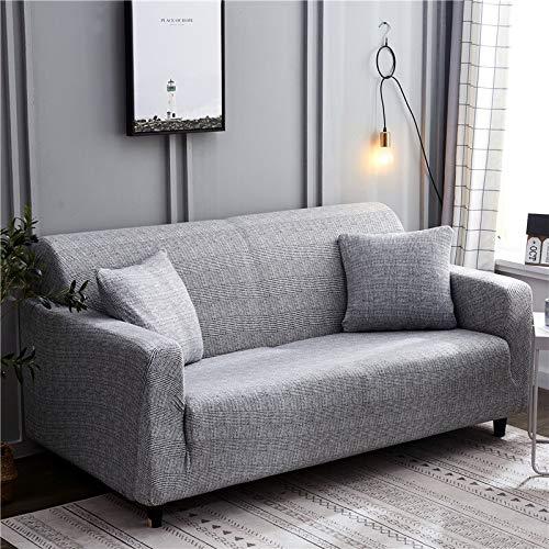 Fundas de Spandex para sofá para Sala de Estar, Funda elástica para sofá, Fundas para sillón, Protector de Muebles A25, 2 plazas