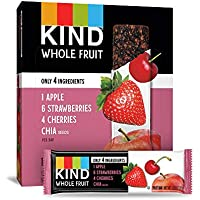 12-Count Pressed by KIND Strawberry Apple Chia Fruit Bars