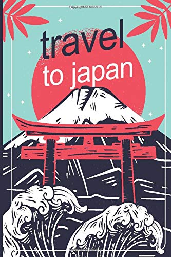 Travel To Japan: A5 120 Seiten Liniert I Notizbuch für Japanliebhaber I Kirschblütenfest I Hanami