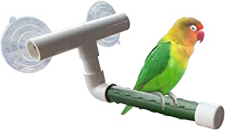 Large LOVIVER S//L Bird Cage Stand Parrot Perch Training Perch Stands Playstand Playgound Play Gym for Concures Parakeets Lovebirds Cockatiels