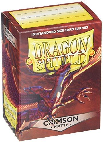 Arcane Tinmen ART11021 Dragon Shield Matte Crimson 100 Protective Sleeves