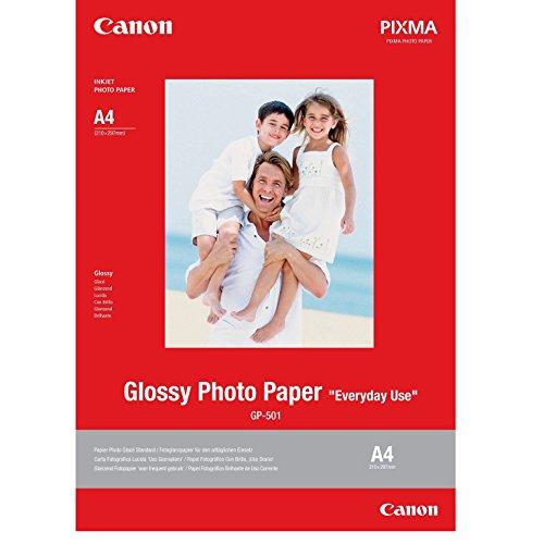 Canon GP-501 Hochglanz-Fotopapier A4 Format (20 Blatt) - 200 g/m²
