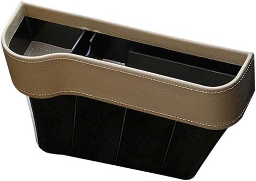 zfdg Autositz Gap Aufbewahrungsbox Aufbewahrungsbox F/ür Autositzl/ücken Schwarz f/ür Mobiltelefone Schl/üsselkarten Brieftaschen Brillen Autositz Konsole Organizer Auto Seat Gap Organizer