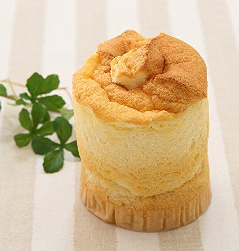 ふわもち食感 北海道 クリーム生シフォン キャラメルクリーム入り シフォンケーキ
