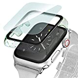 Ritastar for Apple Watch 42mm Bumper Case with Tempered Glass Screen Protector...