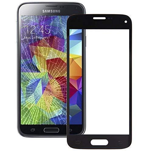 Austausch Display Glas Front Glas für Samsung Galaxy S5 Mini SM-G800F Ersatzglas schwarz