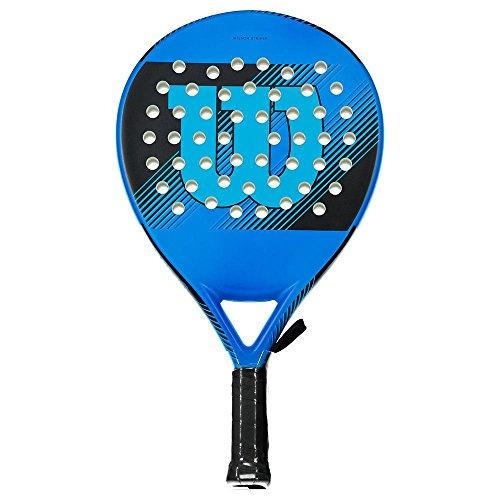 Wilson Striker, Paddle Racket, Nucleo in Eva Fibra di Carbonie, 370 Grammi, Adatta al Beach Tennis, WRT97070U Unisex, Blu, Taglia Unica