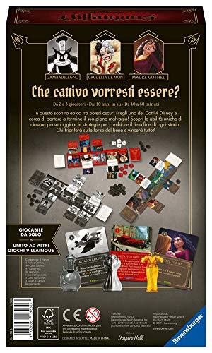 Ravensburger 26930 Disney Villainous Perfectly Wretched, Versione Italiana, Light Strategy and Family Game, 2-3 Giocatori, Età Consigliata 10+