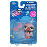 Hasbro Littlest Pet Shop Get The Pets Single Figure Purple Swan Special Edition Pet!