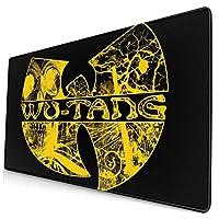 Wu Tang Clan ウータン クラン ラグラン (3) デスクマット 超大判 マウスパッド デスクパッド ゲーミングマウスパッド 事務所机用 パソコンマット レーザー 光学式マウス対応 傷防止 防水 滑り止め 多機能 75cm X 40cm