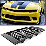 ECOTRIC Hood Scoop Vents Grille for 2014-2015 Chevrolet Camaro Reference Number 22828242
