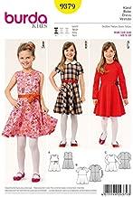 Burda Girls Easy Sewing Pattern 9379 Simple Dresses & Belt