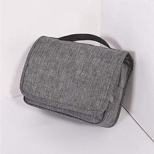 SXXMY Trousse de Toilette Trousse de Maquillage,Crochet-et-Wash Multifonctionnel Trousse Polyester 10 * 17 * 25 cm