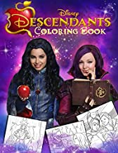 Descendants Coloring Book: Jumbo Coloring Books for Kids Ages 8-12