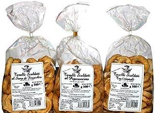 TRIS TARALLI BELL'OLIO di PUGLIA   3 Taralli Scaldati di Puglia   Prodotto da forno ideale per snack   Vi proponiamo taral...