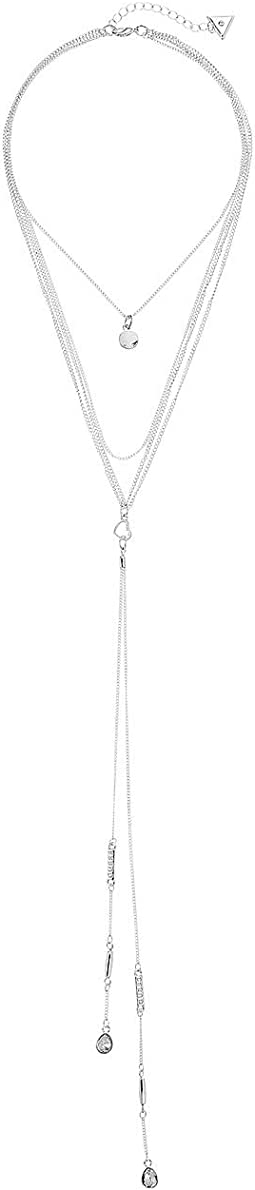 3 Row Dainty Necklace with Choker, Chain and Y-Necklace