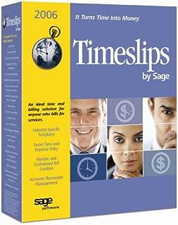 Sage Timeslips 2006
