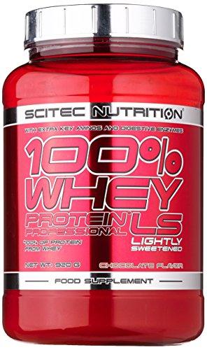 Scitec Nutrition Protein 100% Whey Protein Professional Low Sugar, Schokolade mit wenig Zucker, 920g