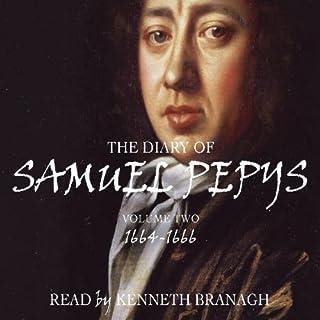 The Diary of Samuel Pepys, Volume 2, 1664-1666 cover art