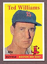 2008 Topps National Convention 1958 Retro Ted Williams Card Kit Young Cards