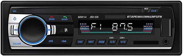 Becobe JSD-520 Car MP3 Player Radio U Disk SD Card BT Music Phone Replacement CD/DVD(Long fuselage)