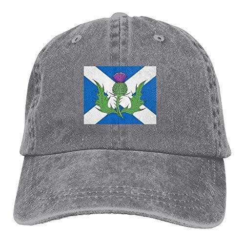 ingshihuainingxiancijies Schottland Distel Symbol Unisex Sport Adjustable Strukturierte Baseball Cowboyhut