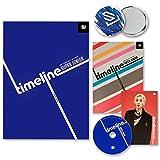 SUPER JUNIOR 9th Special Version Album - [ TIMELINE ] CD + Photobook + Accordion Flyer + F.G