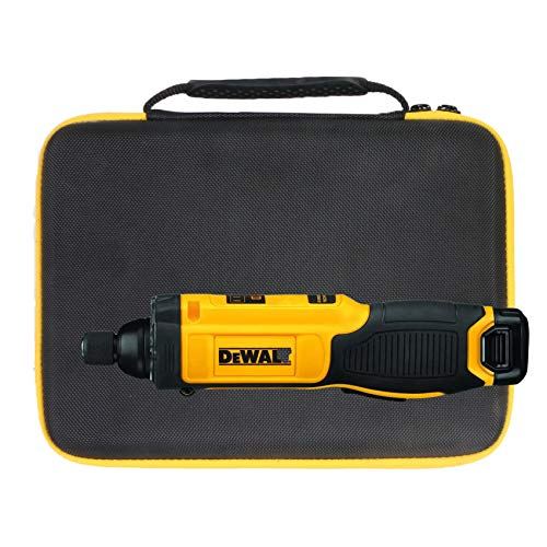 Khanka Storage Hard Case Replacement for DEWALT 8V MAX Cordless Screwdriver Kit DCF682N1 / DCF680N2,Case Only