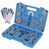 MOSTPLUS Universal Disc Brake Piston Caliper Compressor Tool Set for Brake Pad Replacement fit Most Model/Makes -22 Pieces
