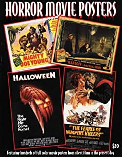 Horror Movie Posters (The Illustrated History of Movies Through Posters, Vol 7)