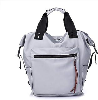 Kemelo New Nylon Zaino School Travel Daypack Borse a Tracolla per Ragazze Adolescenti, Borse e Zaini da Trekking, grigioGra