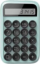 $79 » Calculator Standard Function Mechanical Keyboard Calculator Girl Gift Office Exam Calculator Business Office Calculator (Color : Green, Size : 14.8x9.2cm)