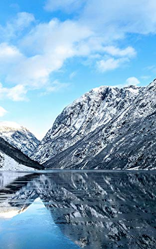 Notebook: Fjord River Norway Norwegian 5