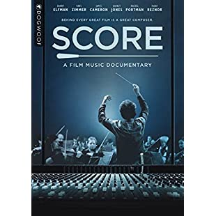 Score A Film Music Documentary [DVD]:Lidl-pl