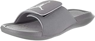 81cc5d4c32a802 Nike Jordan Hydro 6 Black White Wolf Grey Men s Sandals Size 9