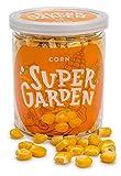 Supergarden maíz liofilizado - Snack saludable - Producto 100% puro y natural - Apto para veganos - Sin azúcares, aditivos artificiales ni conservantes añadidos - Sin gluten - No OMG