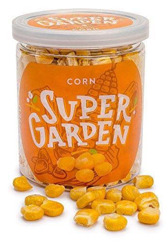 Supergarden Gefriergetrockneter Mais - Gesunder Snack - 100% Rein Und Natürlich - Für Veganer Geeignet - Ohne Zuckerzusatz, Künstliche Zusatzstoffe Und Konservierungsmittel